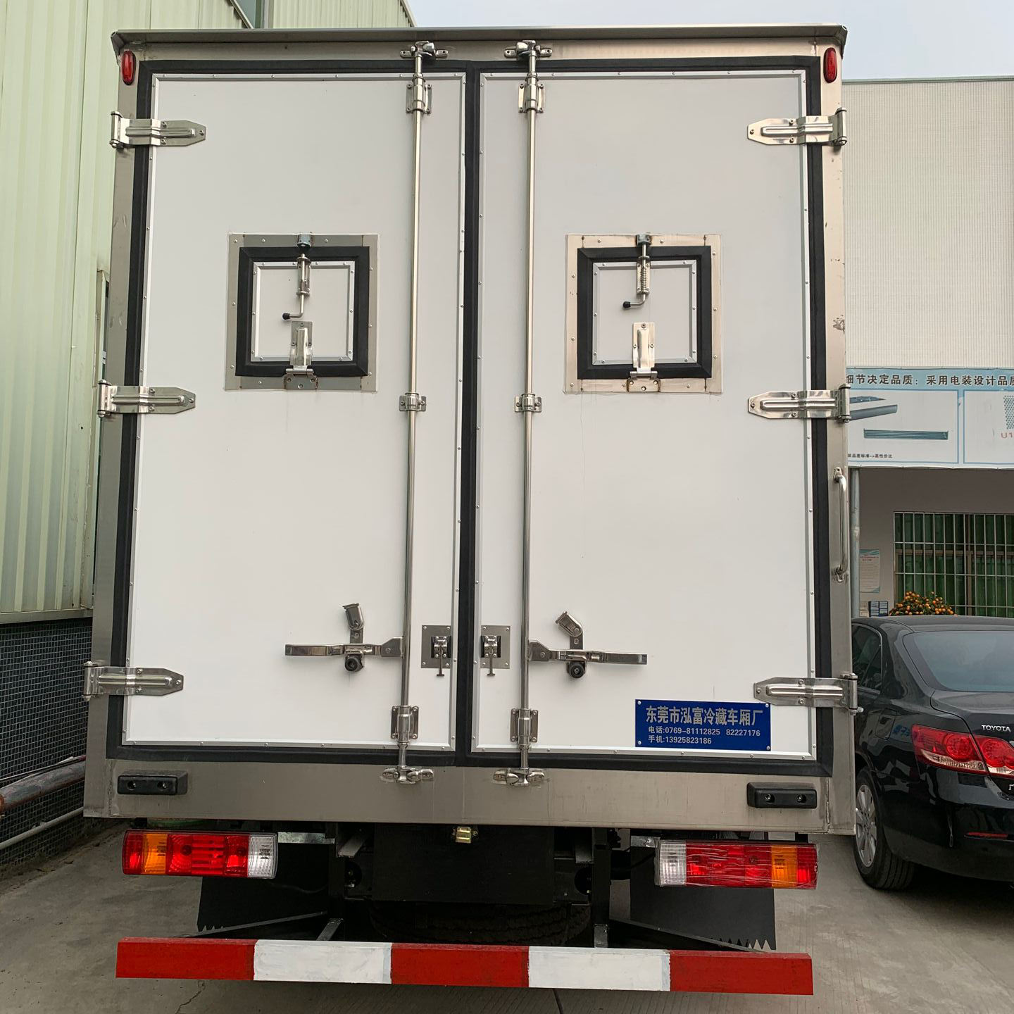 High Quality Aluminium Truck Body parts