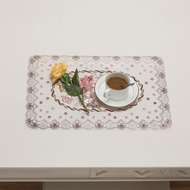 New Tech Luxury Western American Baby Child Kids Dining Vinyl PVC Placemat