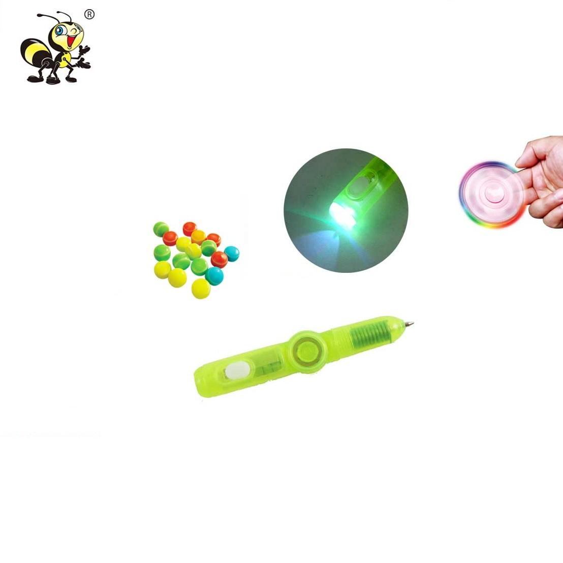 Shantou Confectionery Finger Spinner Candy Spinning Top Toy
