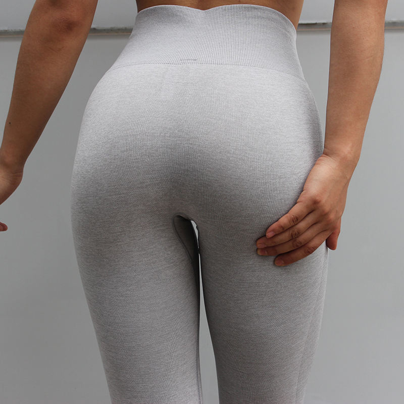 Yoga Leggings Seamless Capris Suplex Leggings Sans Couture Unique Squat Proof Fitness Leggings High Waisted Capri Athletic Pants