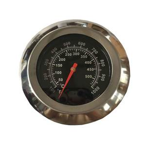 Edelstahl BBQ Pizza Ofen thermometer
