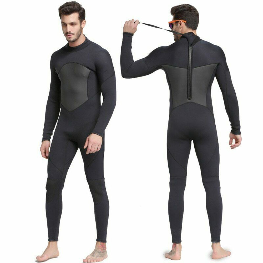 Hot Selling 3mm Neoprene Men Diving Wetsuit Surfing Suit
