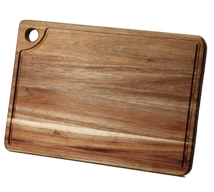 Amazon hot high quality solid wood chopping board in the kitchen