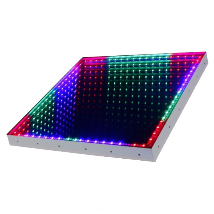 Guangzhou led stage lights supplier 3D Time Tunnel portable interactive led dance floor