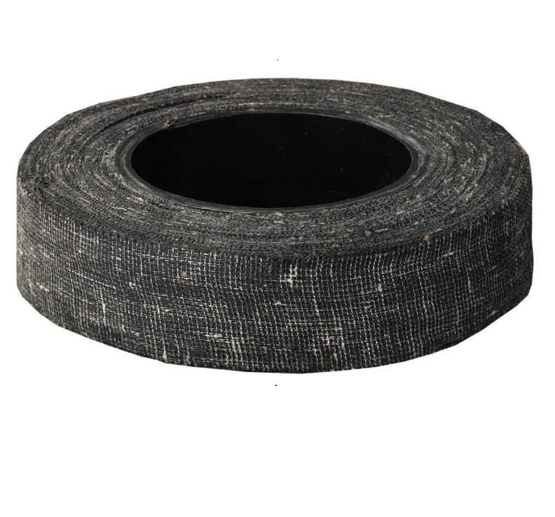 Ukraine Hot Sale Black Insulating Fabric cotton electrical insulation tape
