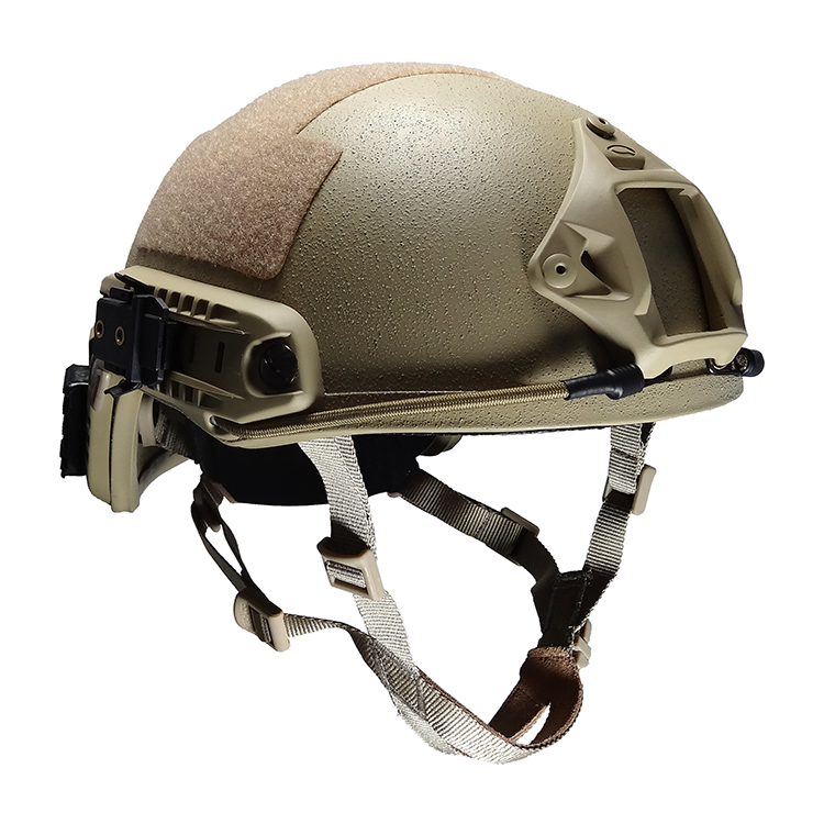 Tan American aramid NIJ 0106.01 IIIA military tactical bulletproof helmet