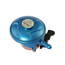 Competitive Price Single Stage 30mbar 37mbar Cooking Butane LPG Gas Cylinder Regulator for Gas Range Stove