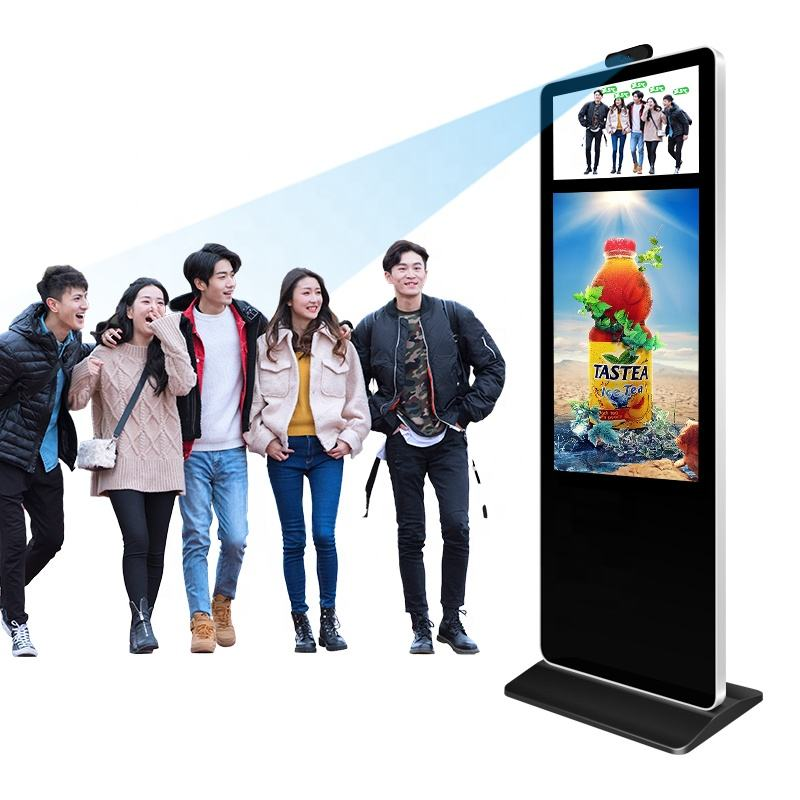 One-Stop Service [ Player ] Android 7.0 Temperature Sensor Scanner Kiosk Temperature Monitor Thermographic Instruments Digital Signage Display Advertising Player
