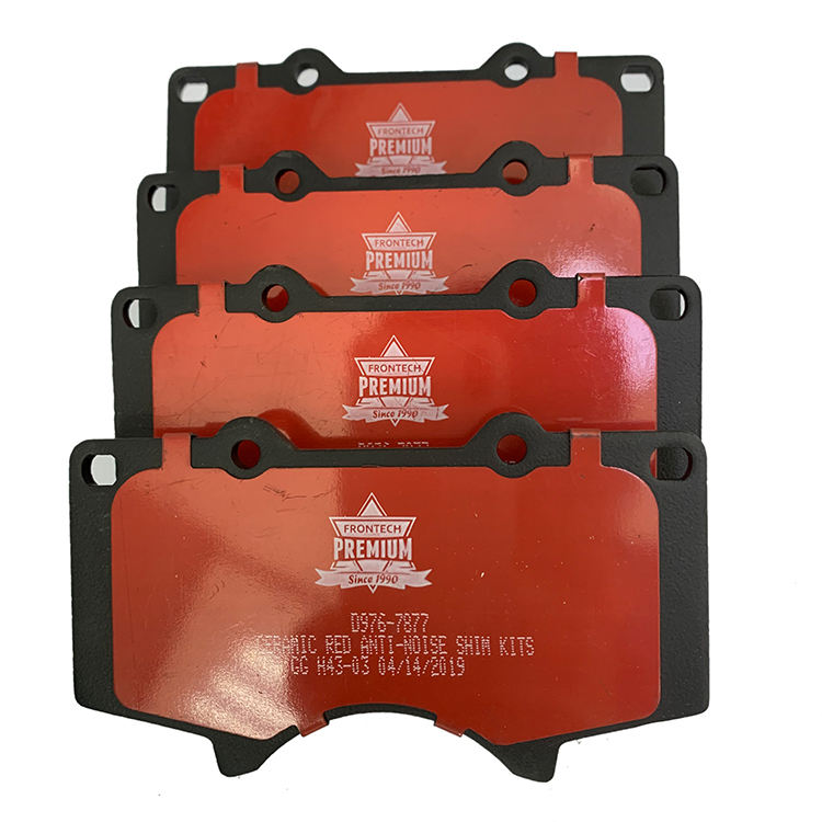 Standard OEM Size High Quality Front Disc Brake Pads for Chevrolet.