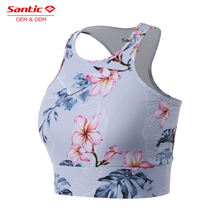 custom ladies sublimation printed yoga high neck sports bra fitness wear