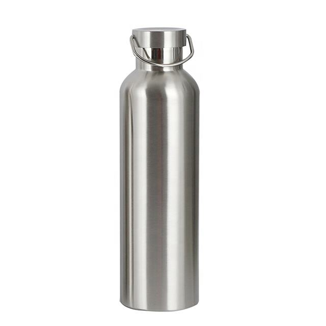 Amazon hot sell stainless steel water bottle for sports leak proof sports water bottle with custom logo