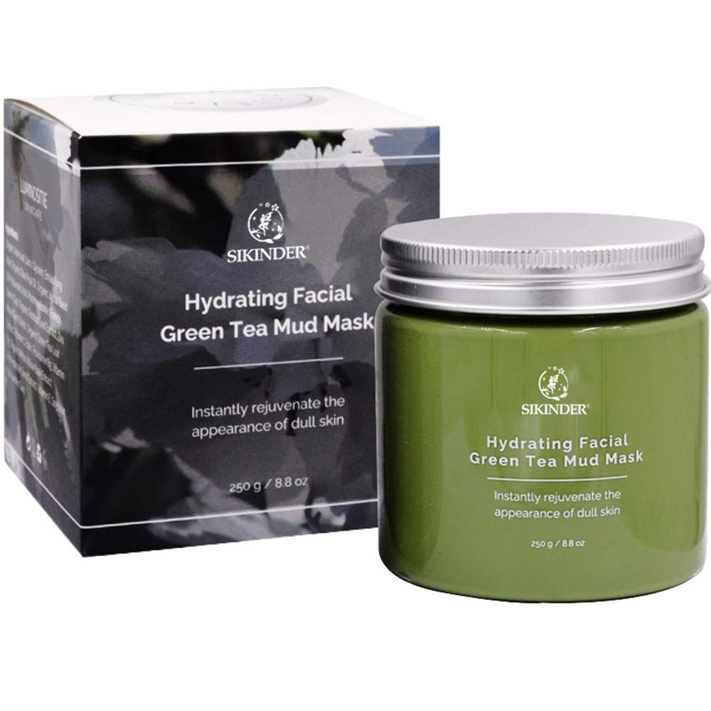 Mung bean paste mask, cleansing, oil control, nourishing, refreshing, firming, whitening and hydrating mask
