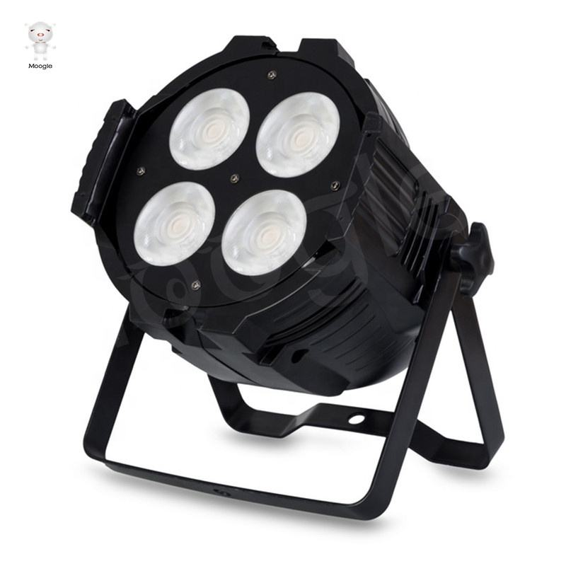WW/CW Peut 4 pièces x 50W DMX LED 200W COB LED D'étape de Pair de LED éclairage