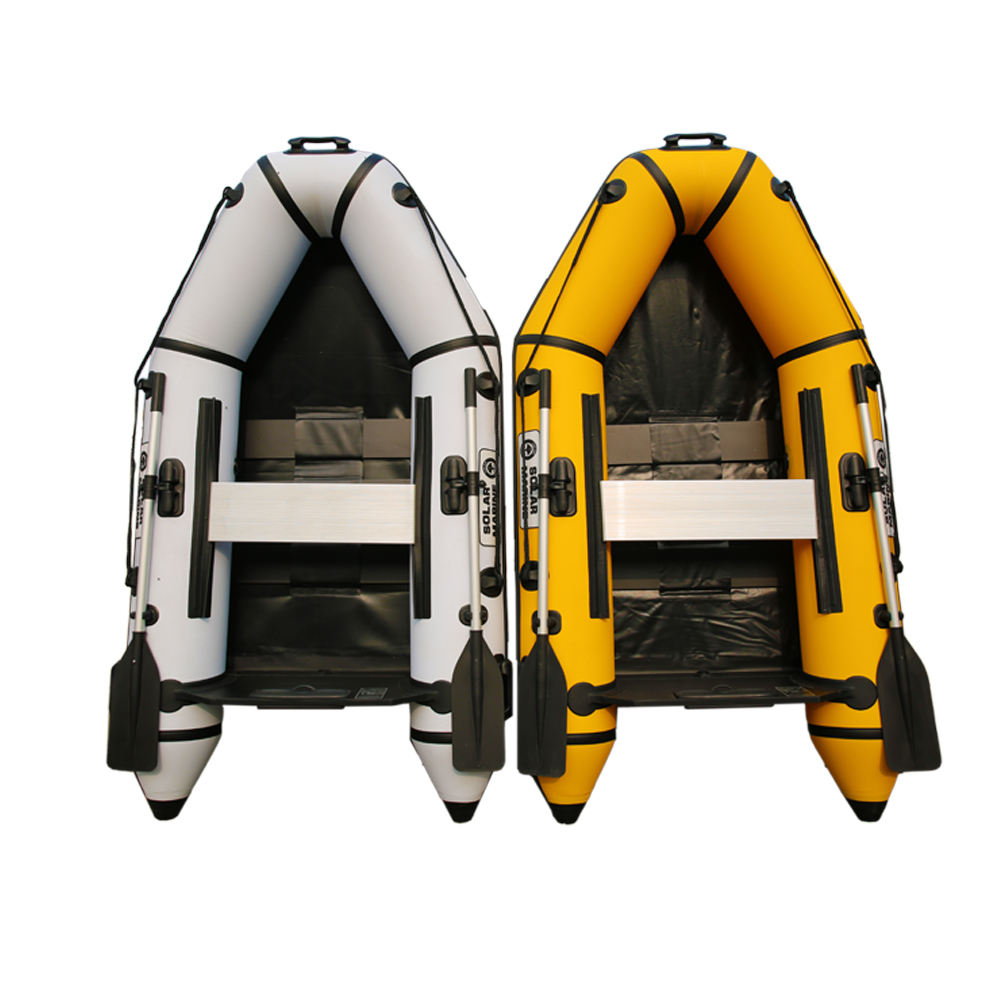 3 Person 230cm PVC Inflatable Assault Boat Speed Yacht Dinghy Kayak Canoe Hovercraft Sailboat Surfing Sailing Board Floor
