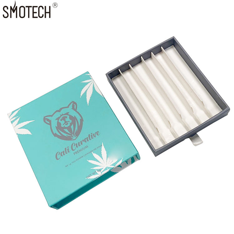 Customized Childproof Oem Printing Pre Rolls Boxes Joint Preroll Cone Custom Drawer Packaging Boxes