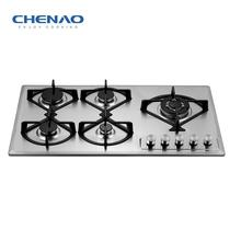 Hot Sell 5 Burner Gas Hob Built in Gas Cooktops