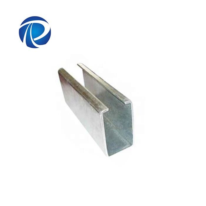 cold formed c channel steel section sizes slotted c channel sizes