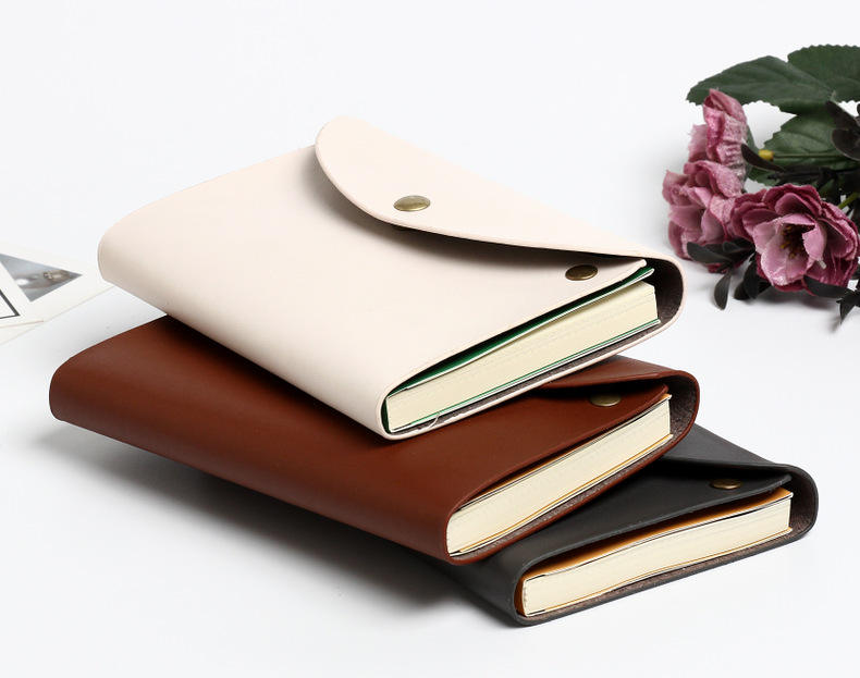 13*18cm Leather Journal Lined Paper Notebook Small Leather Notebook