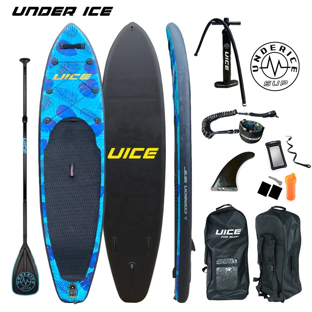 10'6'' 320CM 2020 Hot-selling UICE Double Layers Surfing Inflatable Stand Up Paddle Board