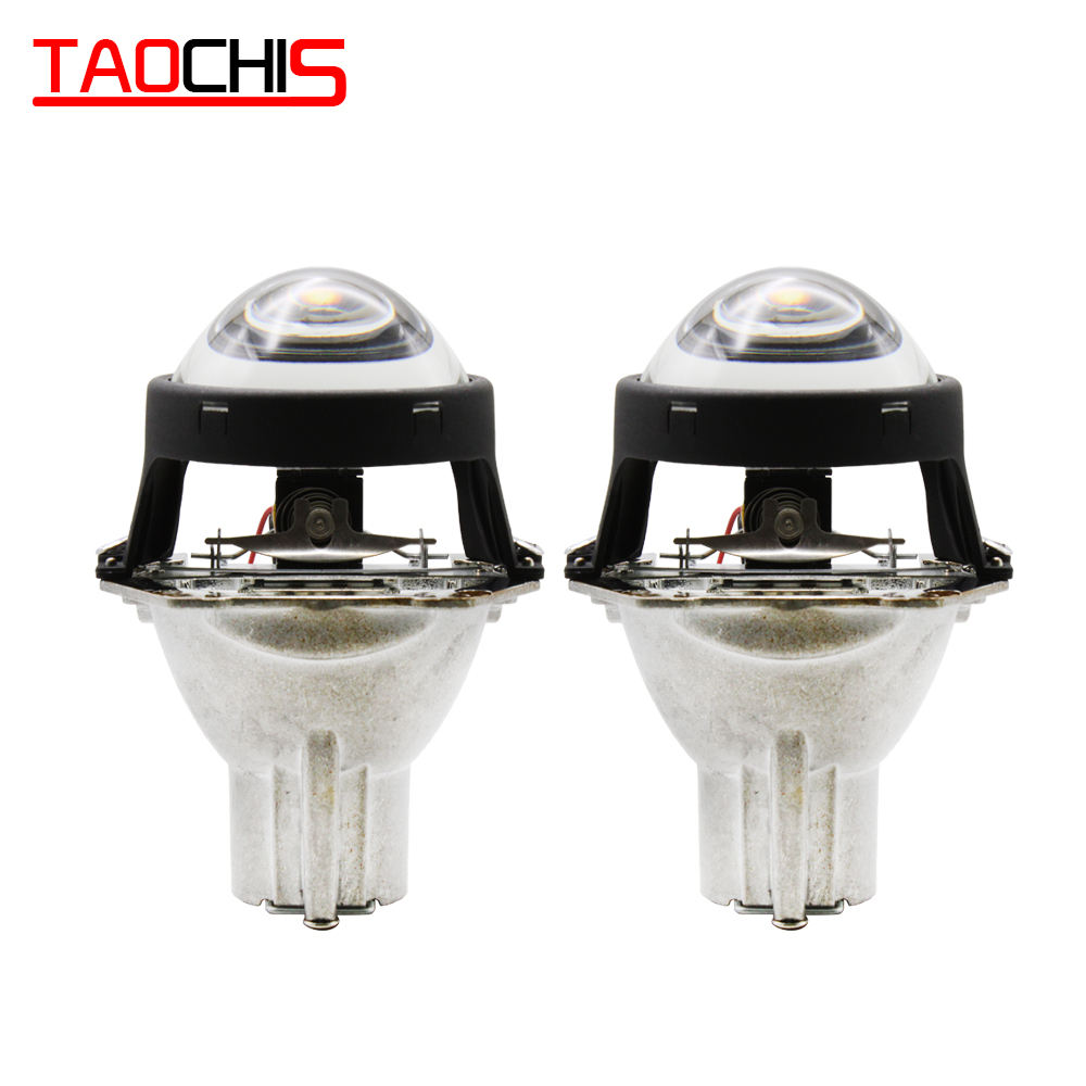 TAOCHIS 2.5 Inch WST Mini Headlights HID D2S D2H D2R BiキセノンProjector Lens For Retrofit Lamp Motorcycle