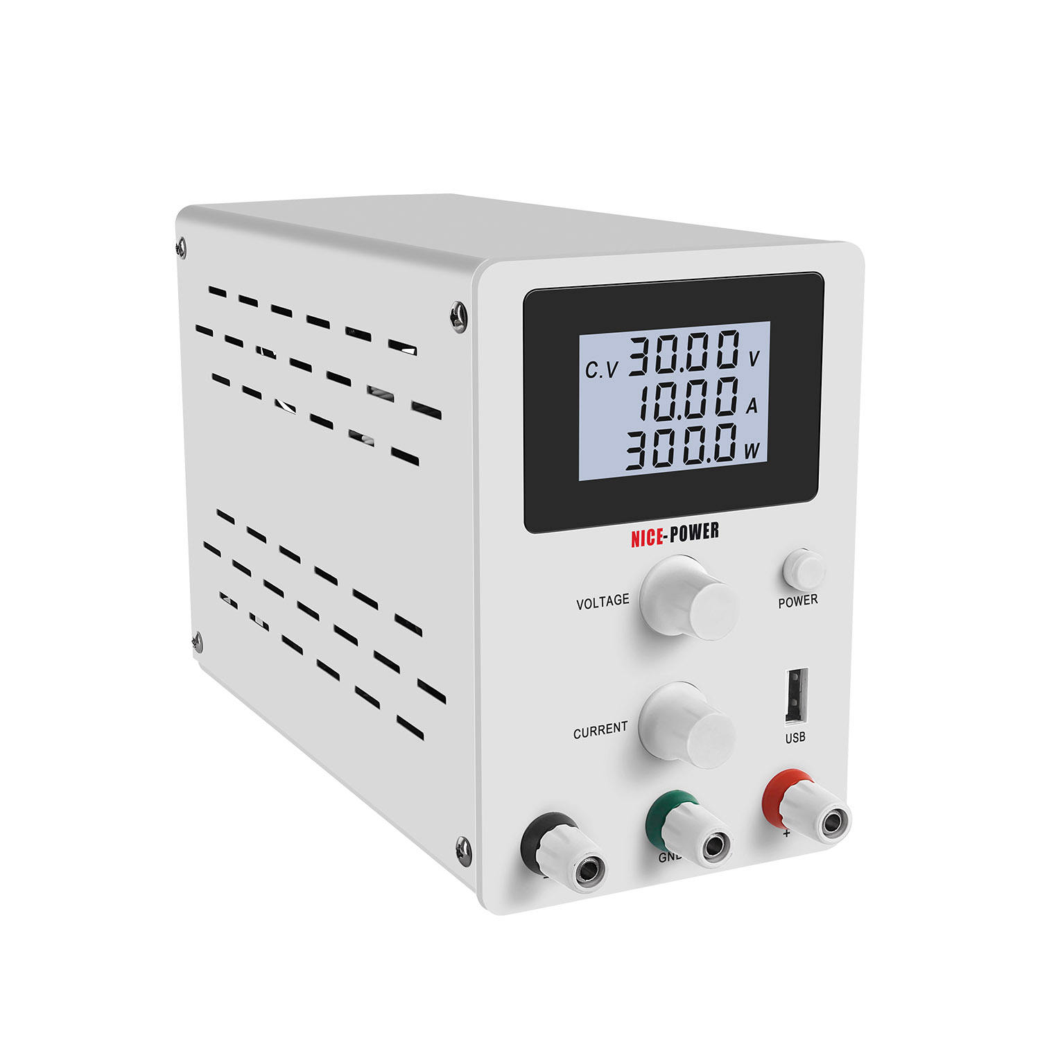R-SPS3010D Factory Price DC Regulated Power Supply 30V 10A Digital Adjustable Switching Lab Test Repair Power Souce