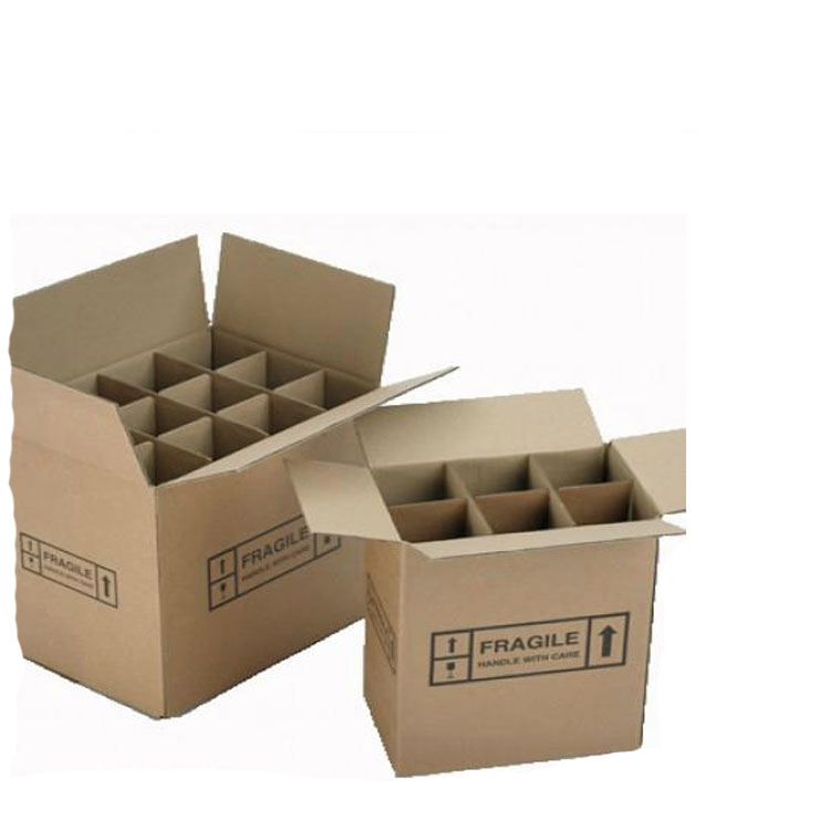 Wholesale custom paper wine gift box cardboard 6 pack bottle carrier beer box