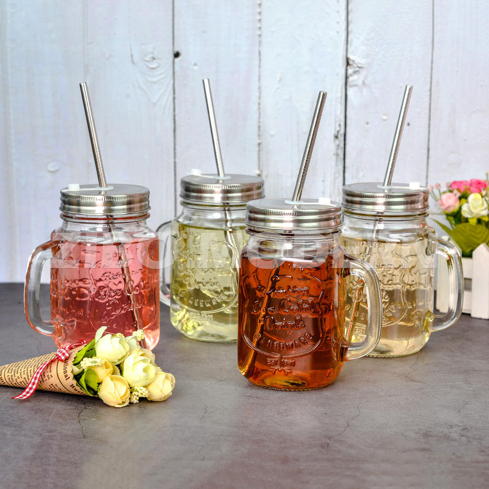 Mason Jars With Lid Wholesale Mason Jars 16 Oz Ice Cold Drink Walmart Glass Mason Jars With Stainless Steel Lid