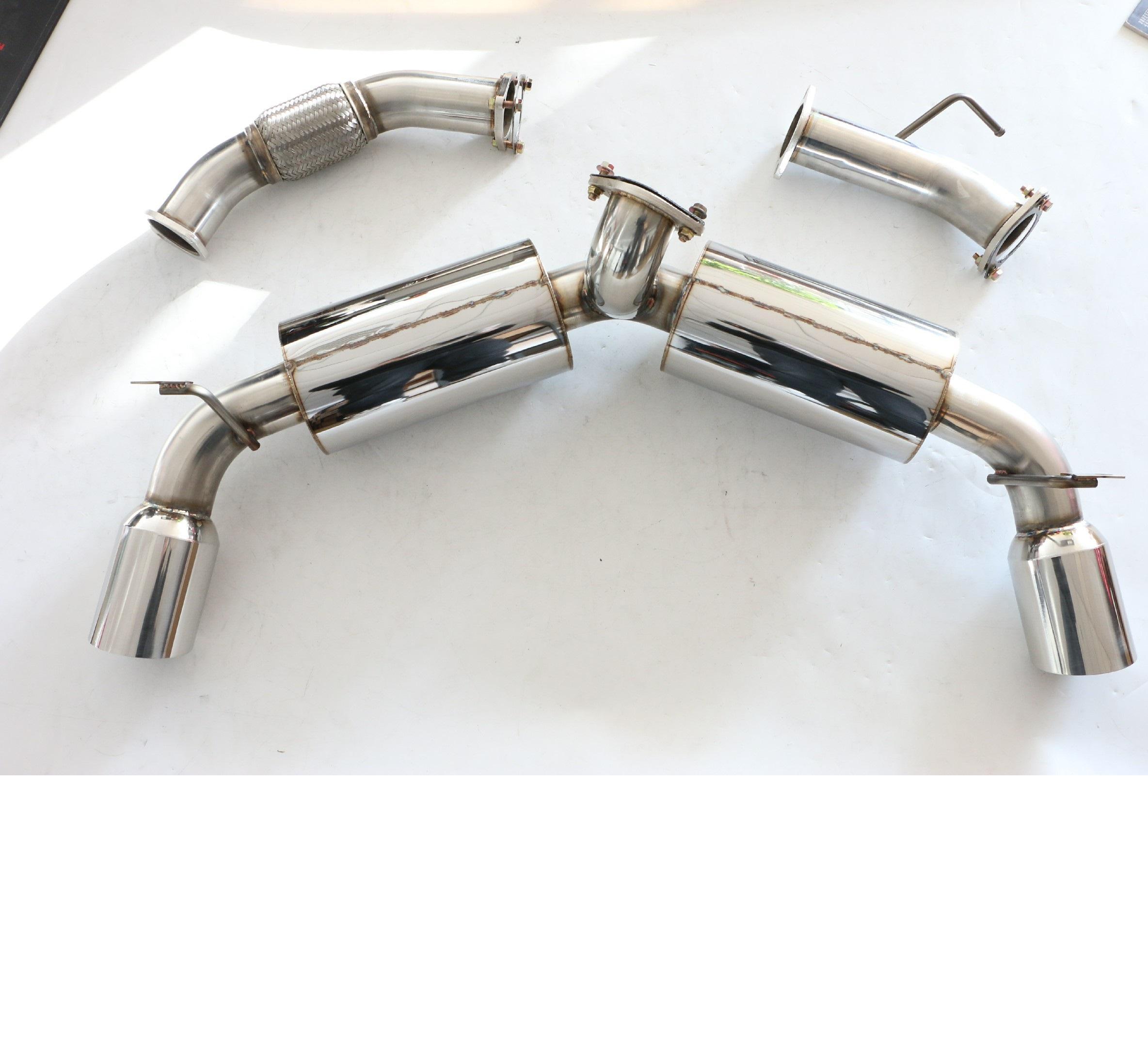 20 degree 2.5 Inch Mandrel Bend Exhaust pipe custom DIY Turbo downpipe muffler