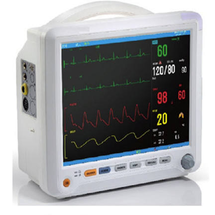 HM-8000B Hospital Cheap 12.1inch Patient Monitor multi parameter ambulance Patient Monitor for ICU