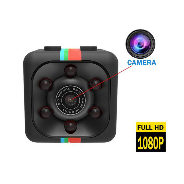 Amazon SQ11 Telecamere Spia Mini Camcorder Night Vision Klip Video Pendek Rekaman Kamera Video untuk Belajar Rapat