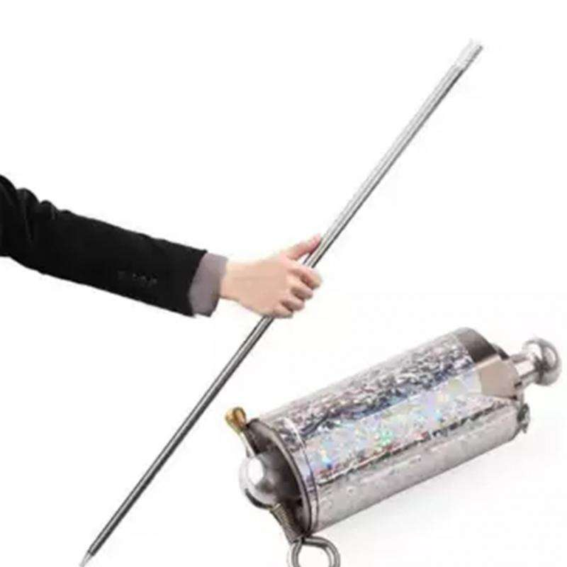 Magical Wand Long Appearing Cane Plastic Stage Stick Magic Cane Close Up Magic Tricks