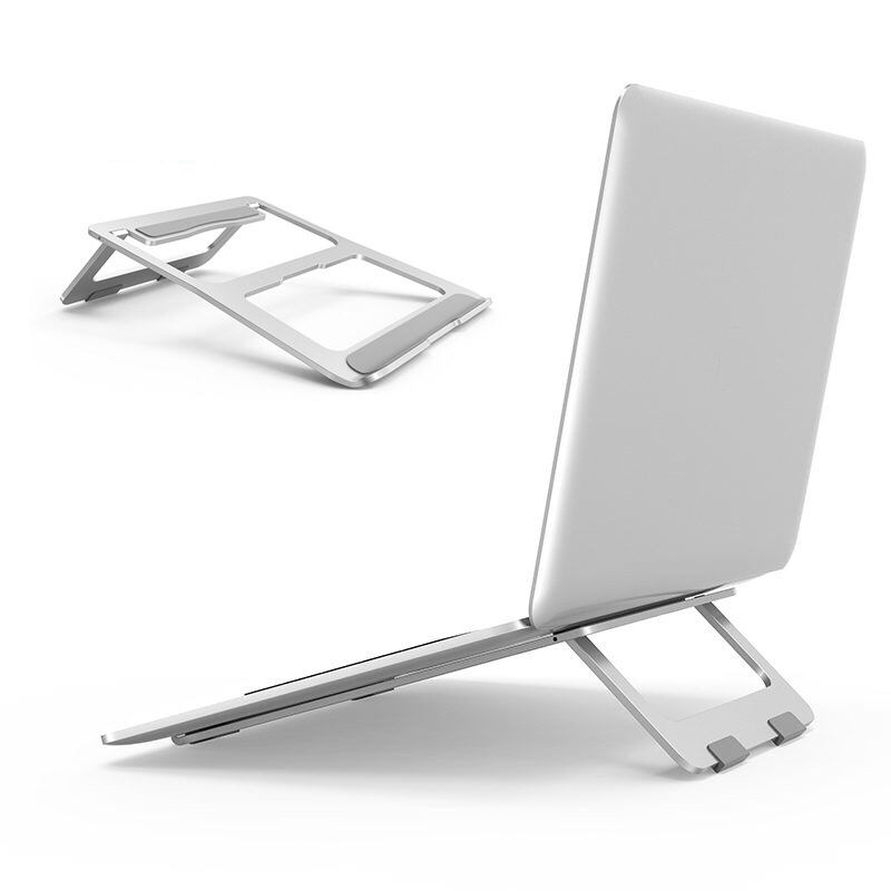 Fashion laptop stand for video conference bed sofa strong aluminum alloy