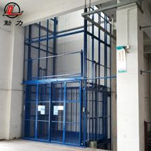 First class quality four post platform industrial hydraulic vertical guide rail cargo lift with customized service
