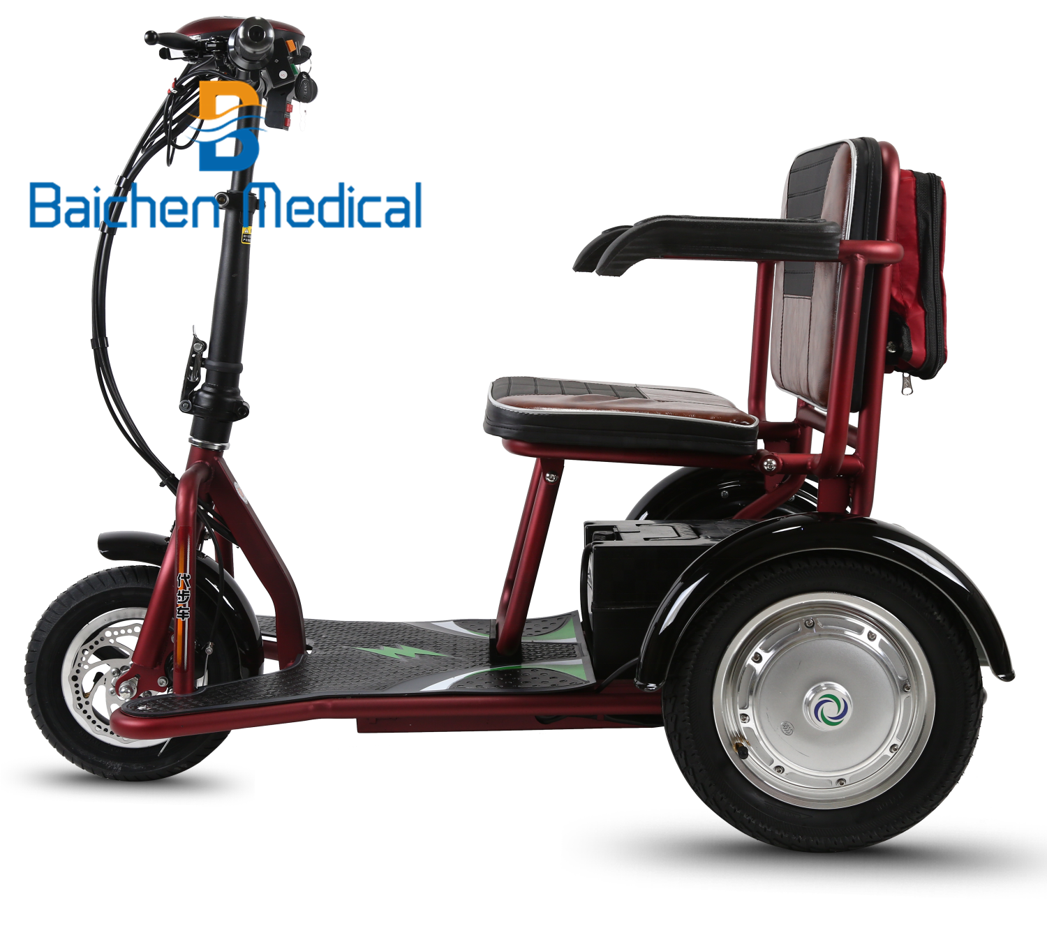 New Innovative Design Manual tricycle electric scooter 60V electric cargo tricycle CE SGS approval