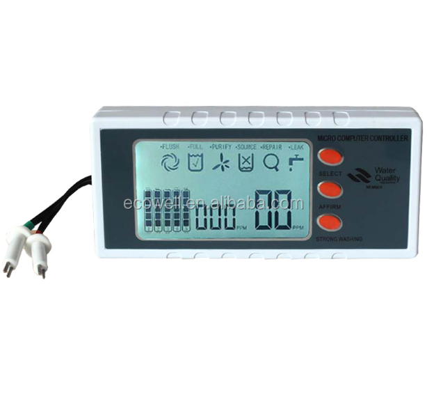 RO System Micro-computer Controller With TDS Cartridge Monitoring Control Board
