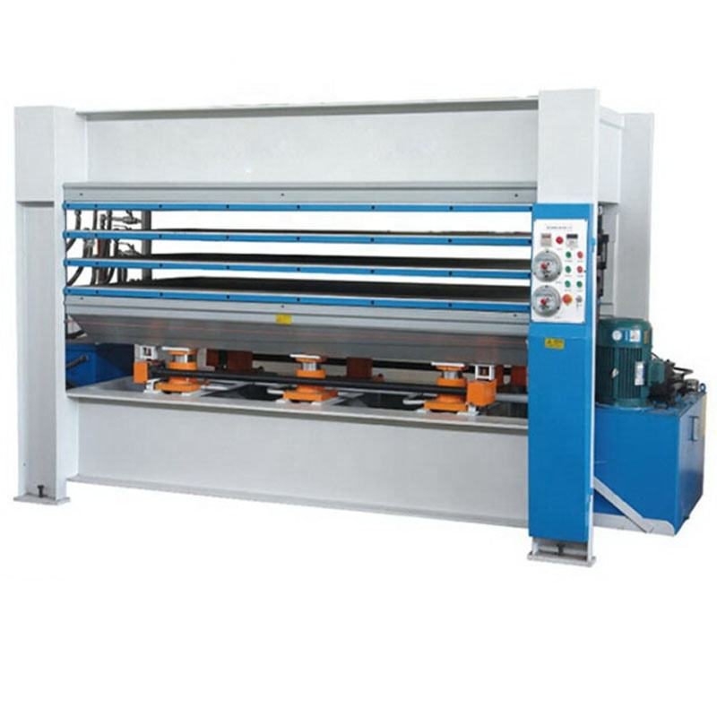 MH3248*3 hot selling 3 layers plywood hot press machine hydraulic hot press for sale