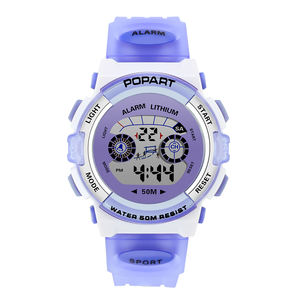 Best Selling Kids Children Watches Plastic Different Colors for your choosing