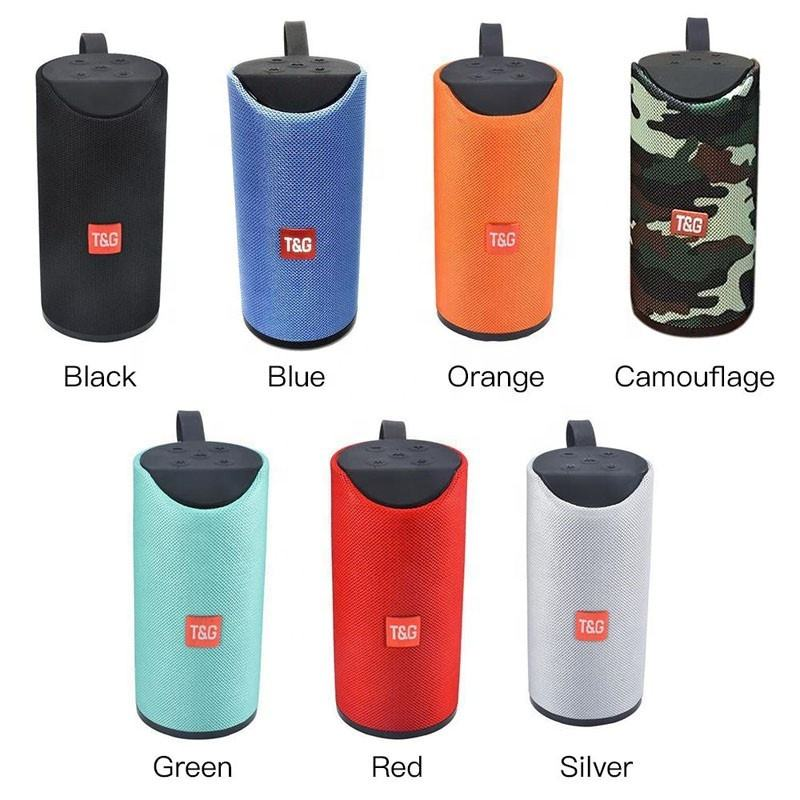 BT Speakers Outdoor Portable Wireless Speaker Super Bass TG113 Wireless Mini Speaker With Mic TF Card