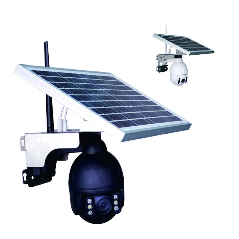 Auto Tracking Wireless Remote Control 1080P 360 Degree Night Vision face detection solar camera