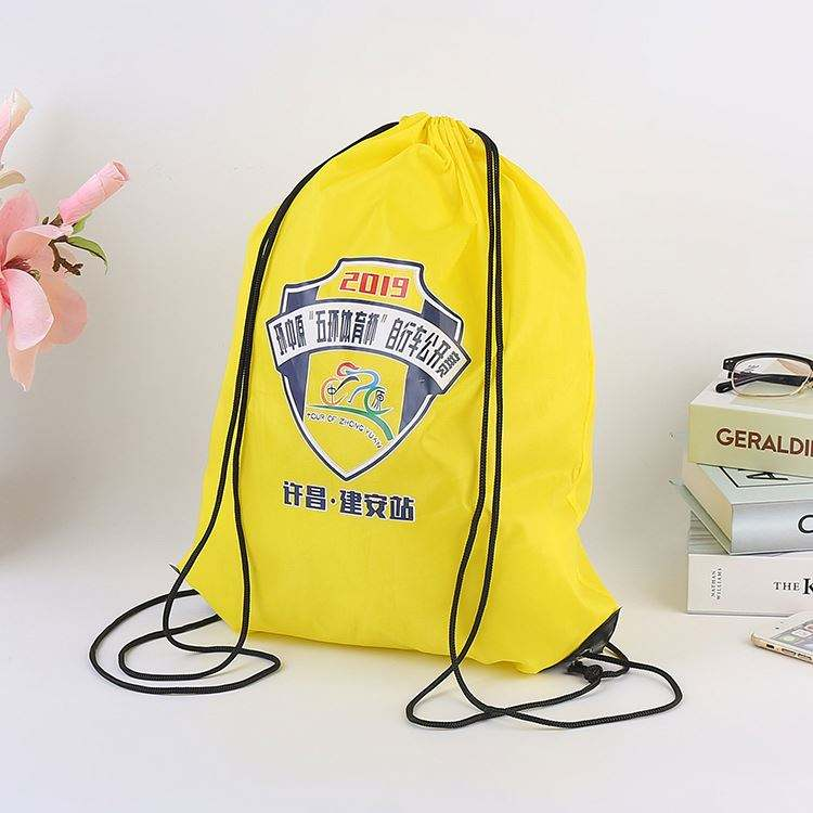 Best selling wholesale custom black velvet backpack drawstring bag