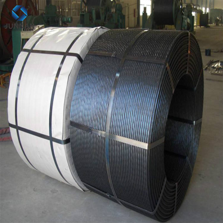 Prestressing High Tension Concrete Steel 12 7mm Strand Cables PC Strand