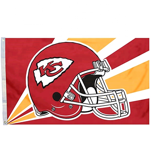 NFL <span class=keywords><strong>Kansas</strong></span> <span class=keywords><strong>City</strong></span> <span class=keywords><strong>Chiefs</strong></span> 3 durch 5 Fuß banner Flagge