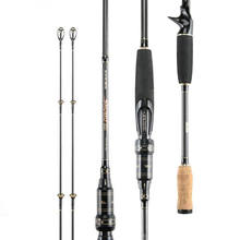High Carbon 2.1M 2.4M Spinning Casting Fishing Rods Power M/ML Carp Bass Long Casting Rod For Amazon