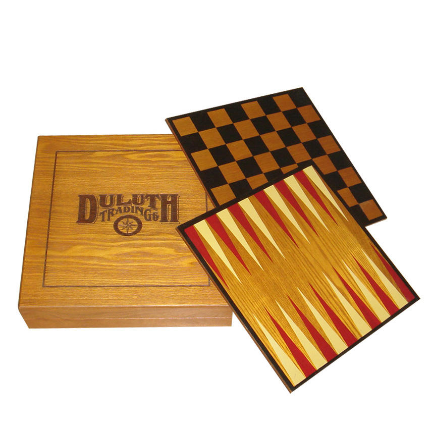 Promotionele Handgemaakte <span class=keywords><strong>Houten</strong></span> <span class=keywords><strong>Backgammon</strong></span> Checkers Schaakspel <span class=keywords><strong>Set</strong></span>