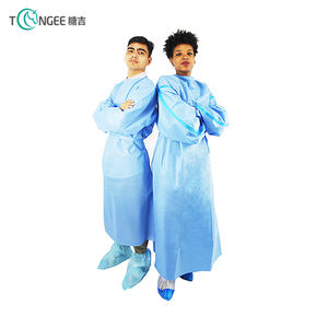 Chinese Factory Disposable Surgical Medical PP Surgical Isolation Gown Medical Apron For Doctors
