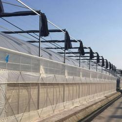 High tunnel tomato plastic greenhouse frame with shade net,agricultural green houses net