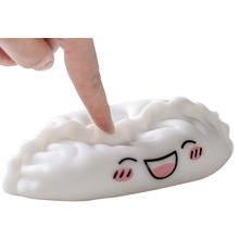 wholesale  customizable soft dumpling  night light ODM OEM baby sleep night lamp for child room