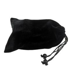XUEREN Velvet Bag for Drone 21.5X13CM Black Drawstring Velvet Pouches Gift Protective Bag Jewelry Packaging Bags
