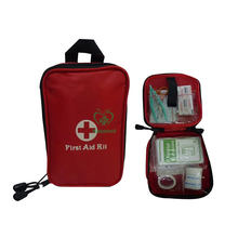 CE ISO approved wholesale waterproof Portable small medical products First Aid box / Bag Mini First Aid Kit for Emergency