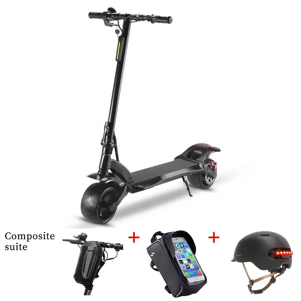 China 500W dual motor powerful two wheel 10 inch fat tire off road e scooter foldable adult electric scooter for sale